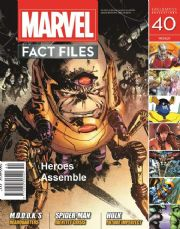 Marvel Fact Files #40 Eaglemoss Publications